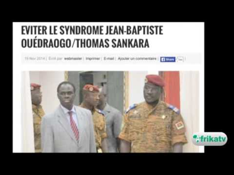 Revue de presse: Burkina Faso, Isaac ZIDA, Premier ministre de transition