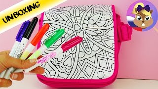 Сумка-раскраска Бабочка | Color Me Mine SIMBA | Распаковка сумочки