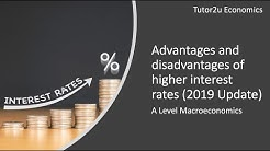 Advantages and Disadvantages of Higher Interest Rates
