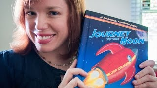 ASMR Journey to The Moon Pop-Up Book Reading