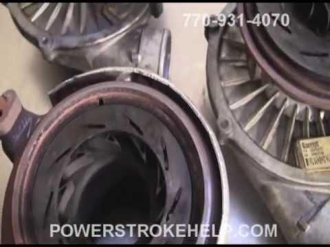 VGT TURBO PROBLEMS AND FAILURES 60 AND 64 POWERSTROKE - YouTube