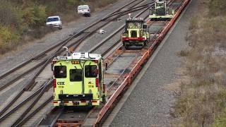 Loading the CSX MOW Train Pt. 1