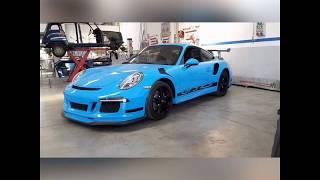 Рестайлинг Porsche 911 в 991 gt3rs