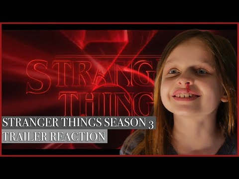 Jemsie's Stranger Things Season 3 Official Trailer Reaction