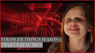 Jemsie's Stranger Things Season 3 Official Trailer Reaction
