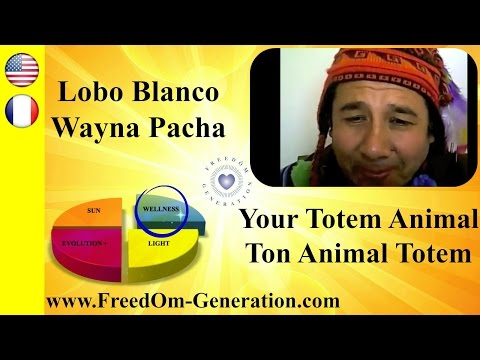 How to know your Totem Animal ? With Lobo Blanco Wayna Pacha (Shamanism)