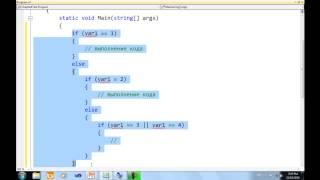 Урок языка программирования c# (си шарп) №4 - Visual C#  №4  Условия и циклы