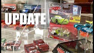 MATTEL DISNEY CARS COLLECTION Update! (Lightning McQueen, Jackson Storm, More)