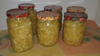 Как приготовить ананасы из кабачков
