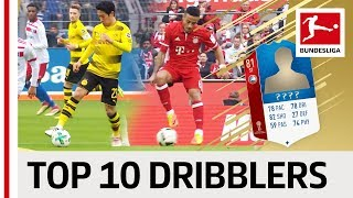 Top 10 Dribblers at the 2018 World Cup - EA SPORTS FIFA 18 - Kagawa, Thiago & More
