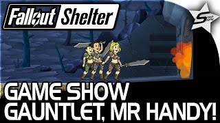 RAIDER RAID, GAME SHOW GAUNTLET QUEST, MR. HANDY!! - Fallout Shelter Gameplay Part 3 PC