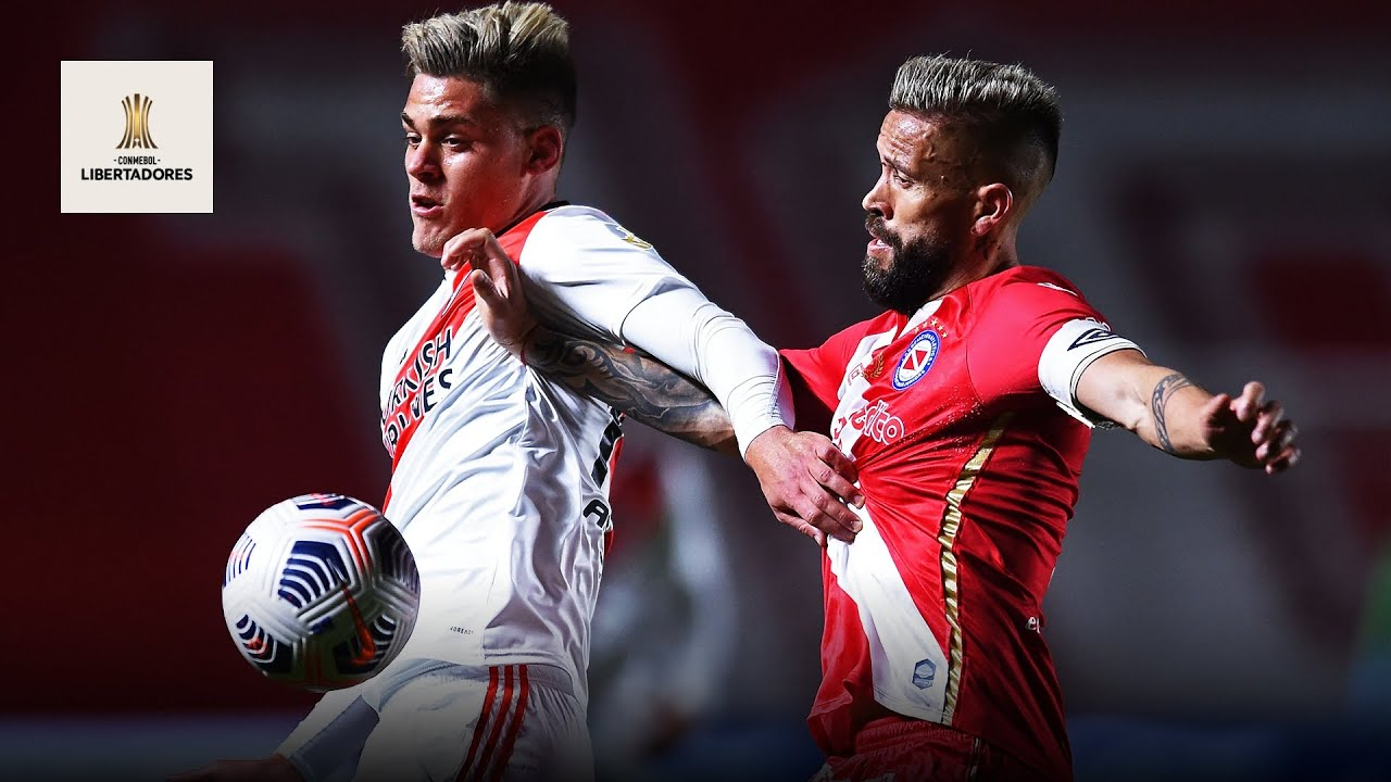 Argentinos Juniors vs River Plate (0-2)   Resumen   Highlights Copa Libertadores 2021
