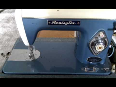 Precision sewing machine De Luxe Streamliner