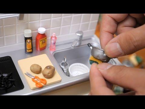 Miniature Kitchen わが家のお台所 リーメント