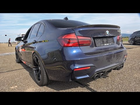 BMW M3 F80 AC Schnitzer with PURE TURBOS & AC SCHNITZER EXHAUST!