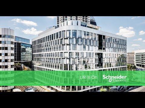Ampère e+ : le bâtiment connecté de Sogeprom, en partenariat avec Schneider Electric