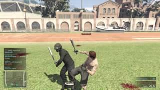 GTA V : Affrontement a la batte de baseball