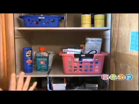 Organizing Deep Bathroom Cabinets With