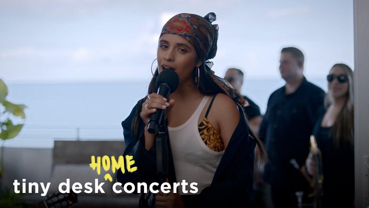 Camila Cabello Tiny Desk Home Concert