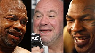 Dana White freaks out over Mike Tyson vs Roy Jones Jr news