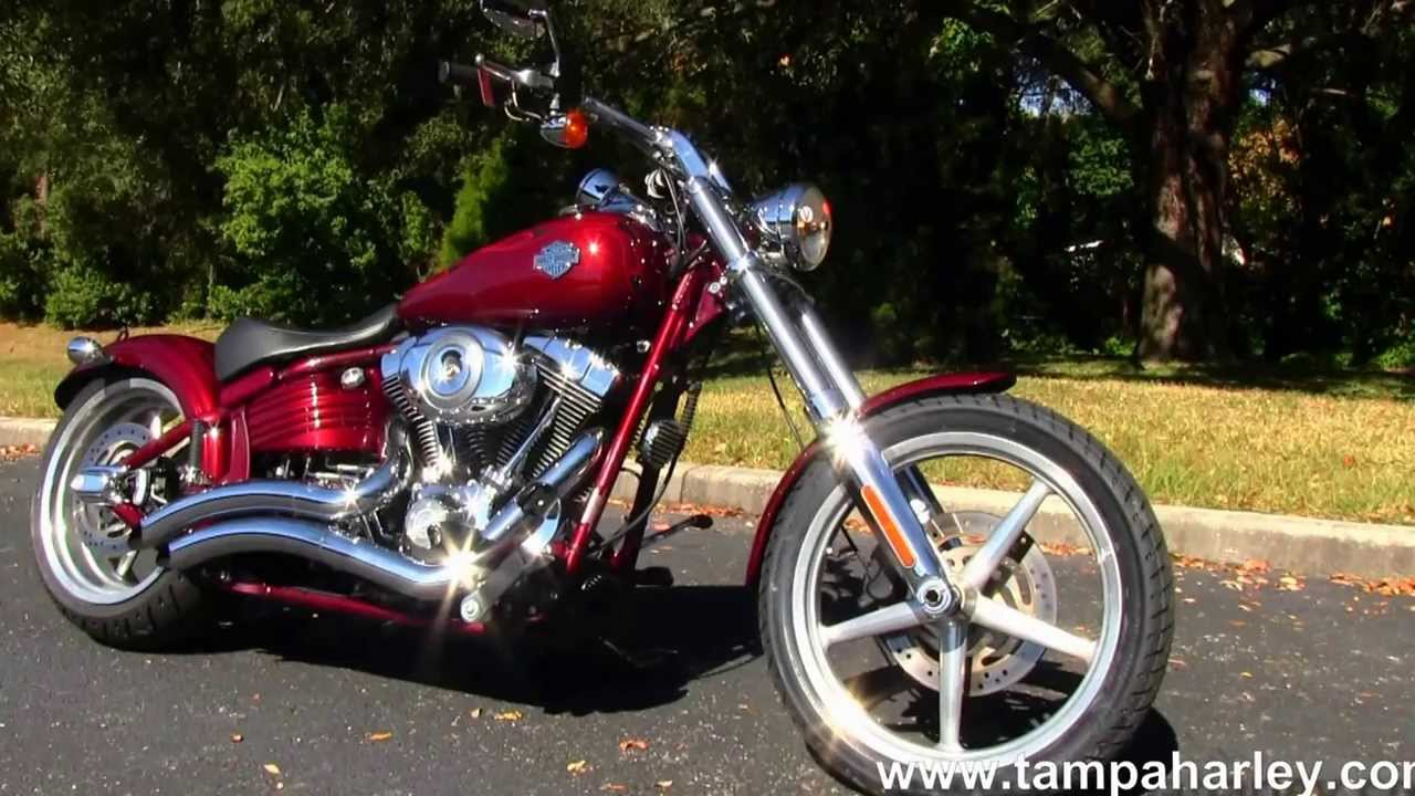 used 2009 harley davidson softail rocker c fxcwc for sale youtube. Black Bedroom Furniture Sets. Home Design Ideas