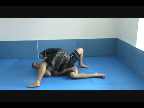 Knee Slice Guard Pass