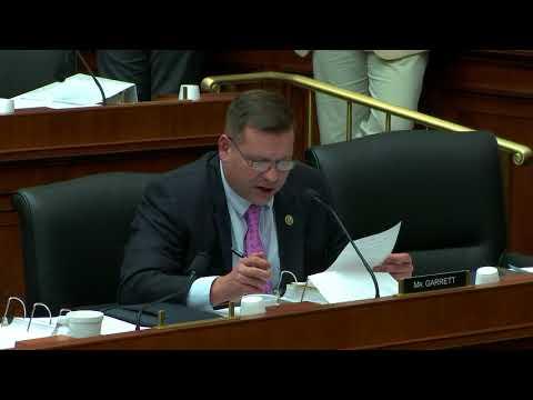 U.S. Rep. Tom Garrett discusses his second amendment to H.R. 4508, the PROSPER Act