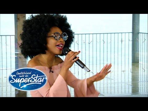 """DSDS 2019  Luisa José mit """"Redbone Childish"""" von Gambino"""