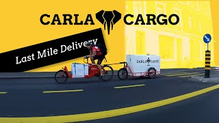 Cargo last mile delivery powered by CARLA CARGO and KurierZentrale