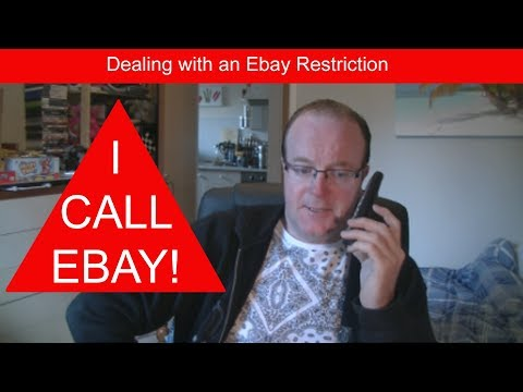 Ebay Restriction Selling On Ebay, Removing A Restriction