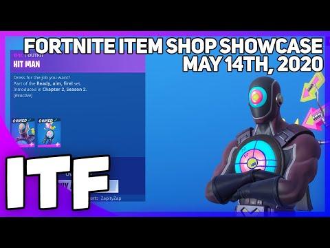 Fortnite Item Shop *NEW* HIT MAN SET! [May 14th, 2020] (Fortnite Battle Royale)
