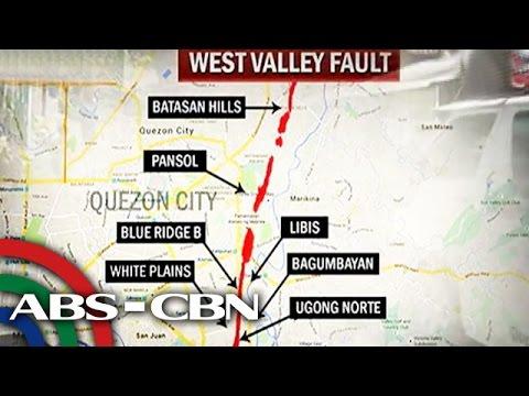 TV Patrol: Mga lugar na malapit sa West Valley Fault