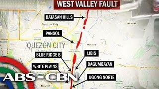 TV Patrol: Mga lugar na malapit sa West Valley Fault