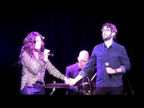 Idina Menzel and Josh Groban  Up Where We Belong ABW Karaoke 2018