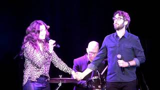 Idina Menzel and Josh Groban - Up Where We Belong ABW Karaoke 2018