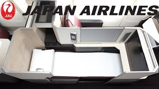 Japan Airlines BUSINESS CLASS Tokyo to London Boeing 777-300ER