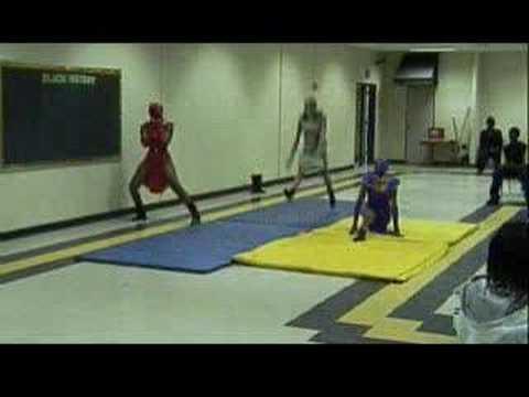 Sista Ninja Performance at Southside Middle School