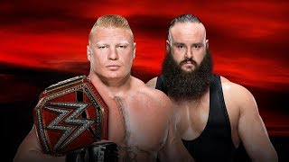 Brock Lesnar vs Braun Strowman No Mercy 2017 Promo