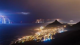 CAPE TOWN Electric Storm