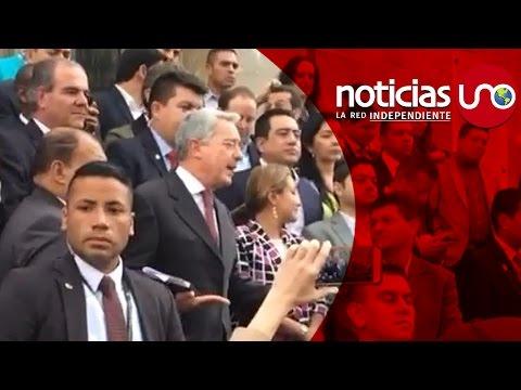 Víctimas se despacharon contra el expresidente Álvaro Uribe