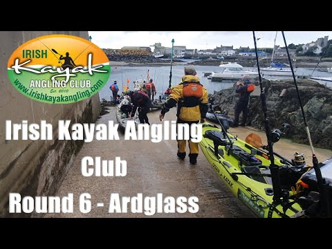 Irish Kayak Angling Club - Round 6 - Ardglass (place Where You Can Catch 17 Species In One Day)