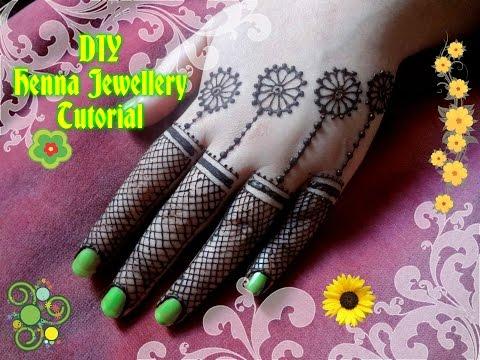 Beautiful Henna Mehndi Jewellery : Easy diy best and beautiful jewellery style henna mehndi design