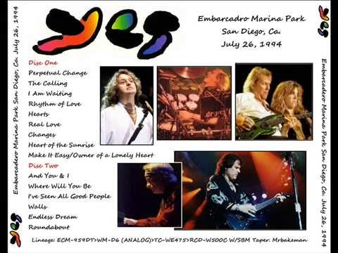 Yes live in San Diego [26-7-1994] - Full Show