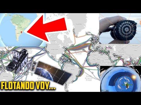 NO existen Satelites? Cables Submarinos. Argentina. Internet
