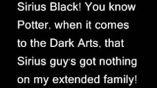 Tony Goldmark - Sirius Black Lyrics