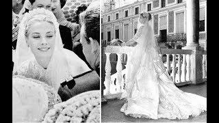 Ч.10 Королевские свадьбы, платья: Монако,Норвегия,Испания,Нидерланды. Принцев надо ?