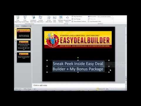 Easy Deal Builder Review and Bonuses