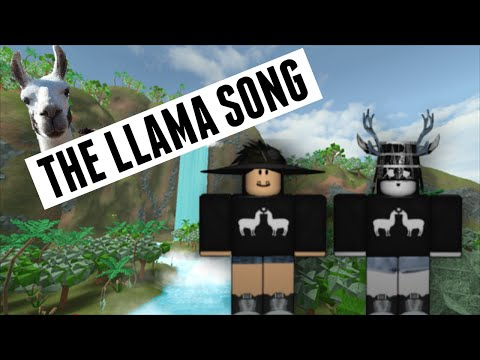 Twaimz- Llama Song (ROBLOX Music Video)