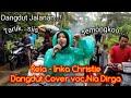 Rela - Inka Christie Dangdut Cover.Nia Dirga Dangdut Jalanan  irama indonesia