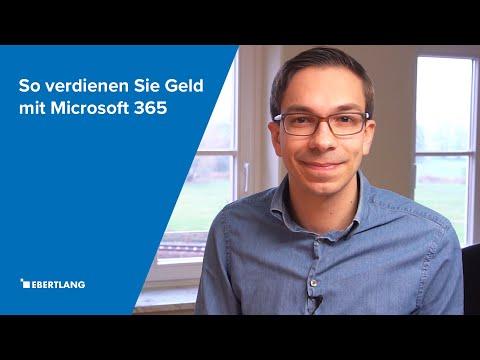 So verdienen Sie Geld mit Microsoft 365